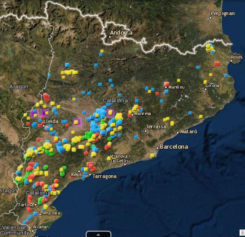 COMUNICAT DE PREMSA: Un nou conflicte greu en el model de desplegament de les energies renovables de la Generalitat