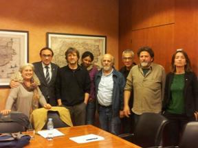 Trobada amb el Conseller Rull de la Federació Ecologistes de Catalunya