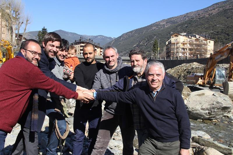 Front comú per preservar les truites i fer possible el Mundial de Piragüisme a Sort