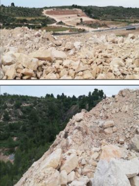 Ipcena denúncia l'obertura de dos pedreres i la destrucció del paisatge a la Floresta (Les Garrigues)