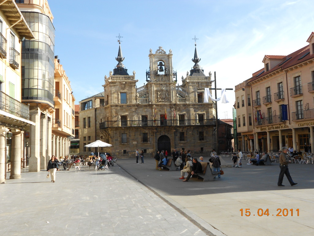 Das Rathaus von Astorga