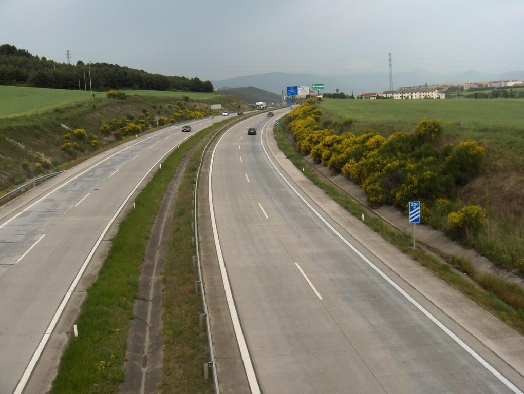 Über die Autobahn