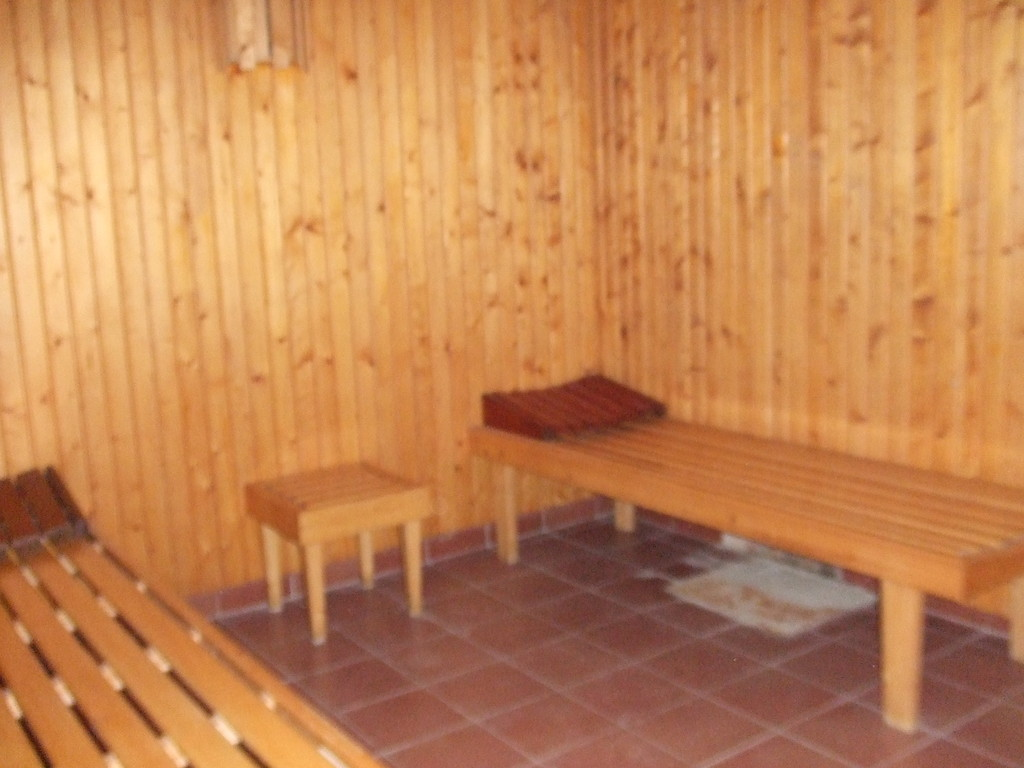 sala reposo sauna