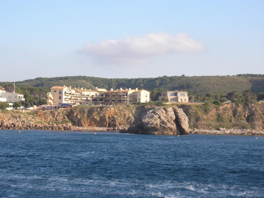 Port de rei vista del mar