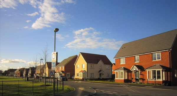 New housing at Didcot