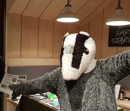 Oxfordshire Badger Group at Lush in Westgate centre