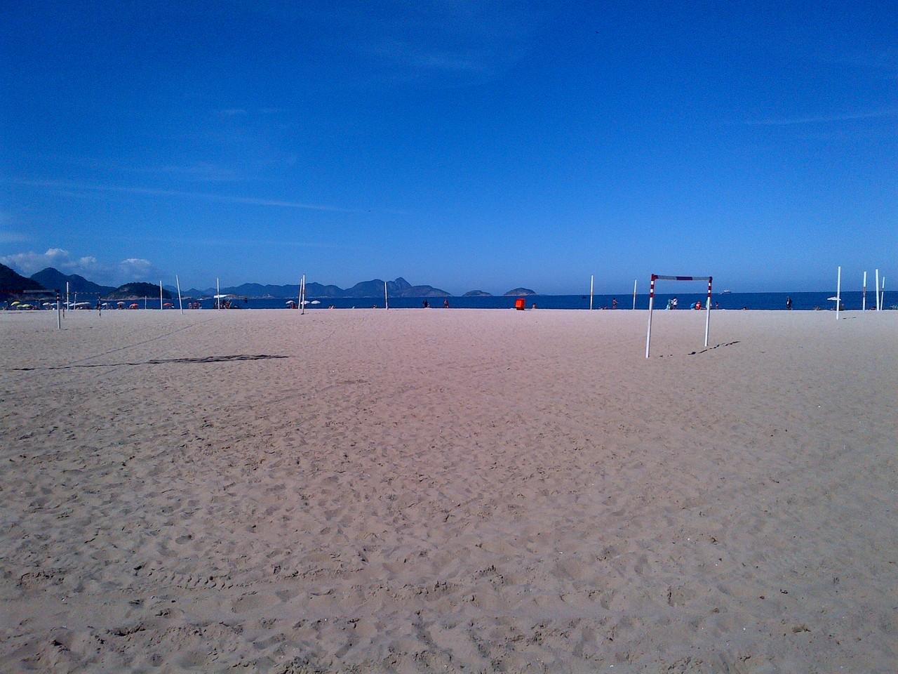 der Strand von Leme