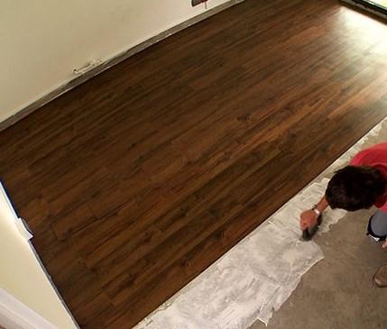 Colocación piso vinilico