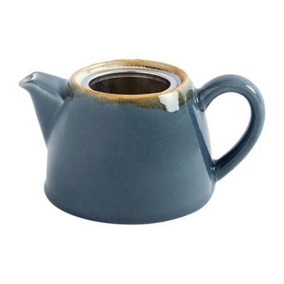 Teekanne Olympia Kiln aus handbemaltem Porzellan SA278. In verschiedenen Größen und Farben erhältlich.