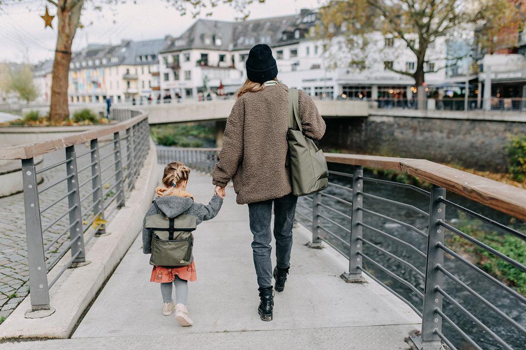 Taschen im Partnerlook für Mama und Tochter