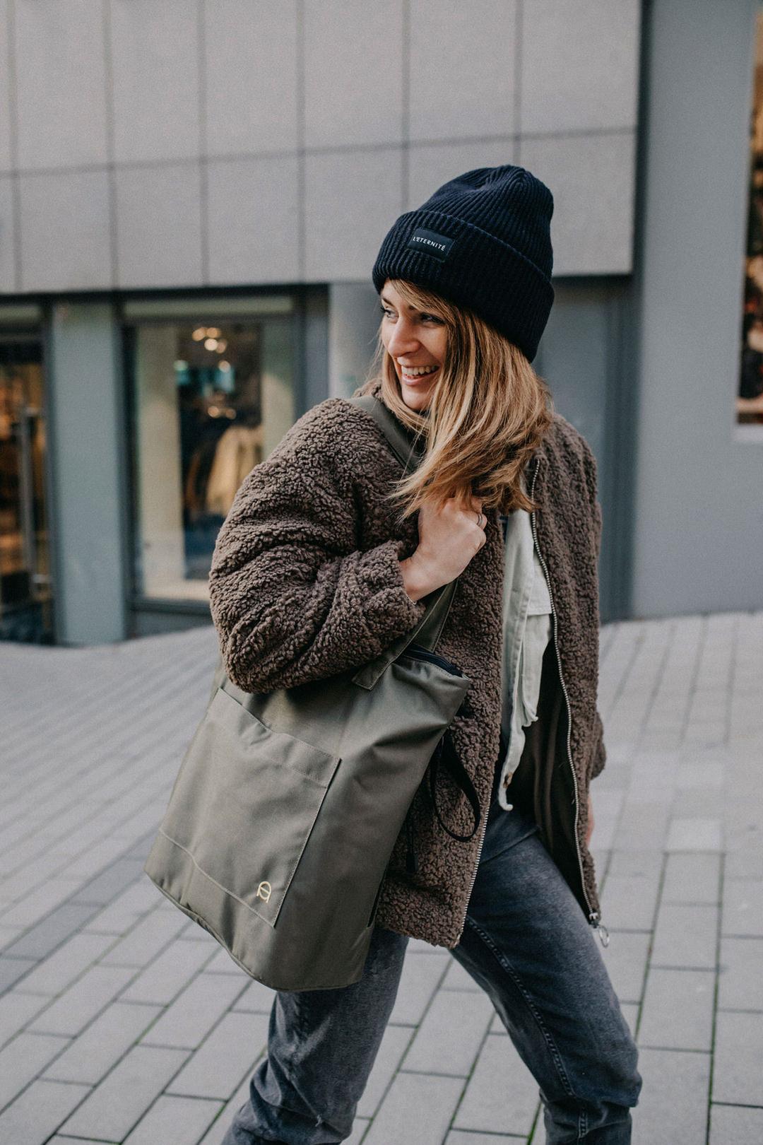 Eine Wickeltasche die nicht nach Wickeltasche aussieht