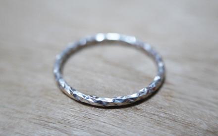 Bague SCINTILLANTE diamantée