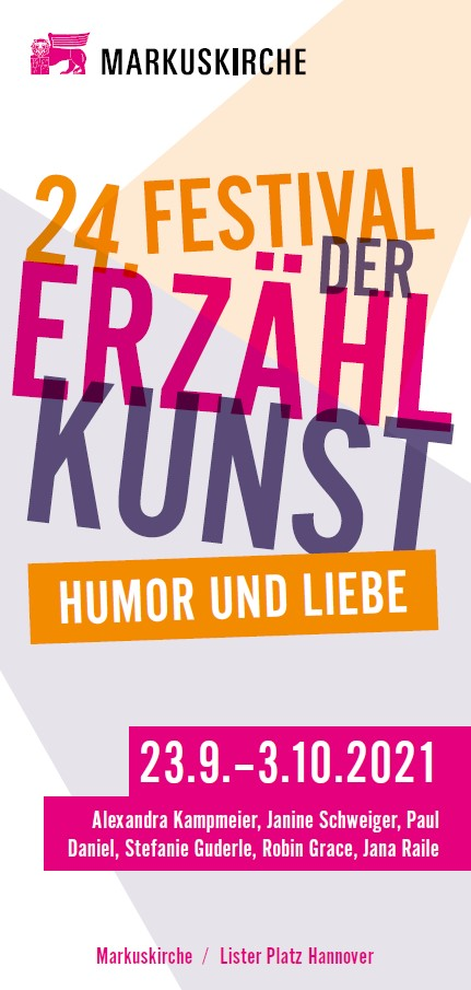 Erzählfestival Hannover vom 23.09.-03.10.2021