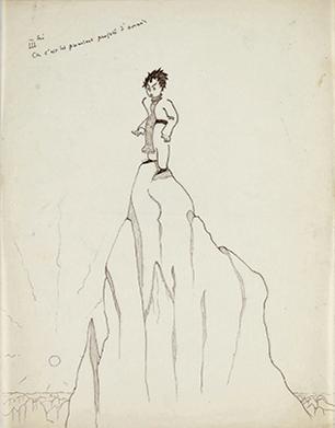 Saint-Exupéry, dessin, exposition, Galerie Gallimard, Paris