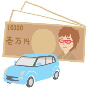 中古車購入日記3、イラスト日記、車選び、新古車、車屋巡り、保証