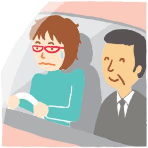 イラスト日記-中古車購入編1-