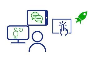 Online-Interaktion und Kollaboration für Fortgeschrittene