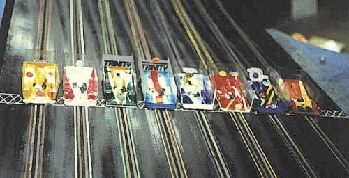 Slot cars .  Sylmar 1980