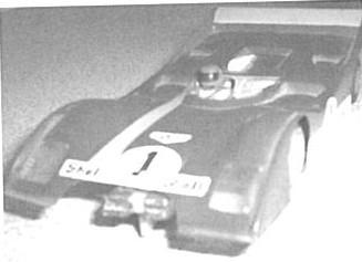 Châssis F32 avec Ferrari 312P