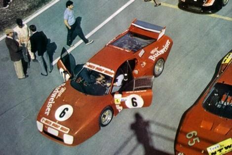 La vraie Ferrari BB 512 de Bob Wollek, Edgard Doeren et accessoirement de Randy Lanier qui l'a accidenté choisie par François Callat qui gagne le Championnat de France production 1983