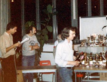 Didier Moret, Üwe Bock et Tony Hough