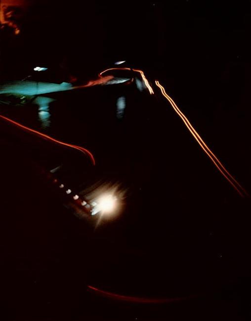 La piste la nuit des 24 heures de Bordeaux slot racing 1985