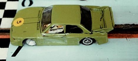 La BMW de Christophe Peix