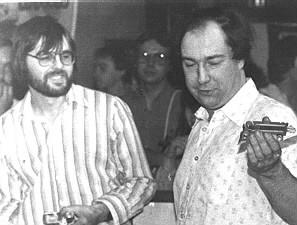 Ian Jensen & Pete Hore à Sunderland 1983