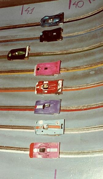 Schkee DB 1 CanAm, Shadow DN 4 CanAm, Prophet CanAm, CAC. 1 CanAm, Porsche 917 CanAm, Ferrari 312 PB, Gulf Mirage GR 8, Ferrari 712 P.
