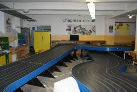 "Hlinsko  "" Chapman circuit ""  - 8 voies"