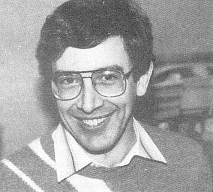 Adrian Coppola ( Ecosse ) vainqueur B grade du British Open Championship 1986