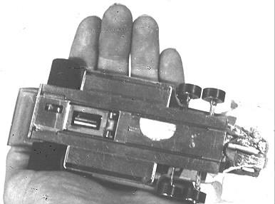 Châssis Pete Hore de Grand Prix ( Formule 1 ) 6 roues Tyrrell P 34 vue de dessous