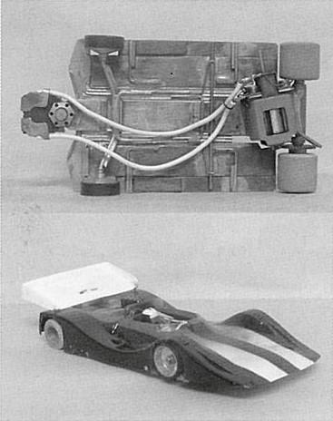 Châssis et Shadow CanAm de Derek Cooper en 1985 ( photo Derek Cooper )