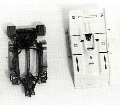 Châssis de Jean-Claude Éhinger. Ultra Léger copie Paul Pfeiffer en petit