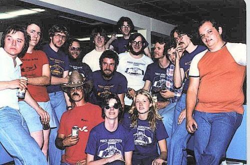 Le Team CAMEN à Sylmar 1980.