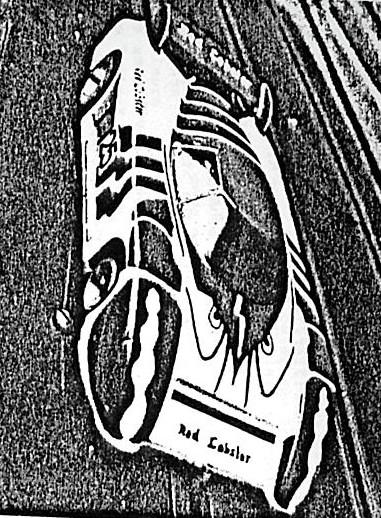 La March 82 G Red Lobster de Cathenis, Cathenis et Legrand second des 12 heures de Nieupoort 1986