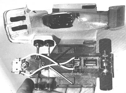 Pete Hore champion Grand Prix avec ce châssis