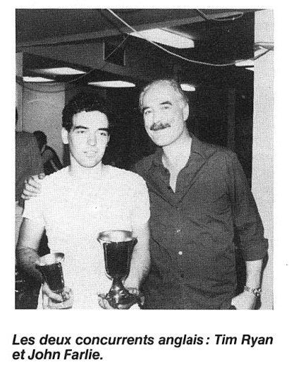Tim Ryan et John Farlie au Grand Prix de Bordeaux 1982