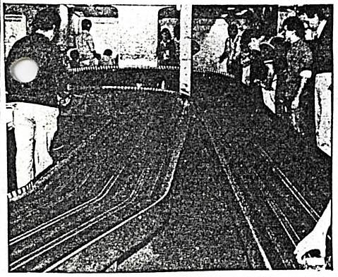 Slot racing à São Paulo Piste Hiffen, championnat UPA 1983
