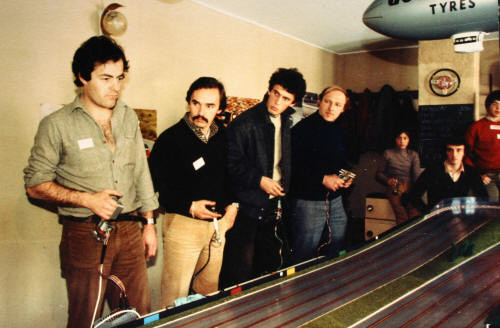 Pierre Straumann, Giovanni Montiglio, Marco Bellini, André Henry.