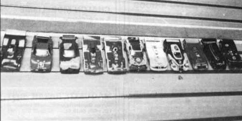 Slot racing club de Colmar. Grand Prix de Colmar 1981