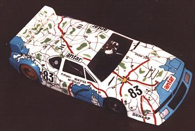 La BMW M 1 n° 83 réalisée par John Goldsmith