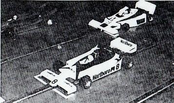 La McLaren d'Angelo Magnani