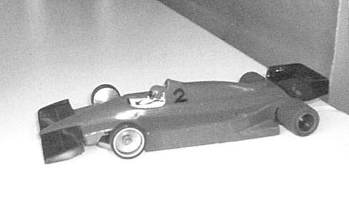 La Ferrari 156 d' Alan Lucas vainqueur en Grand Prix. Châssis Adrian Coppola