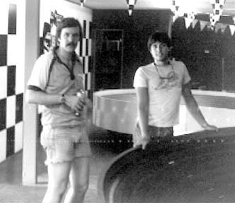 Stuart Koford et Earl Javier à Las Vegas 1981