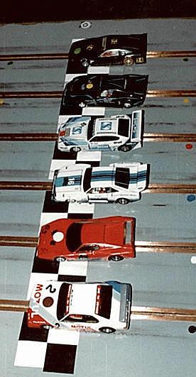 5 ième série Production, les plus rapides aux essais.