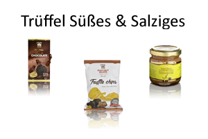 Trüffelschokolade - Trüffelsalz - Trüffelmarmelade - Trüffelhonig - Trüffel kaufen