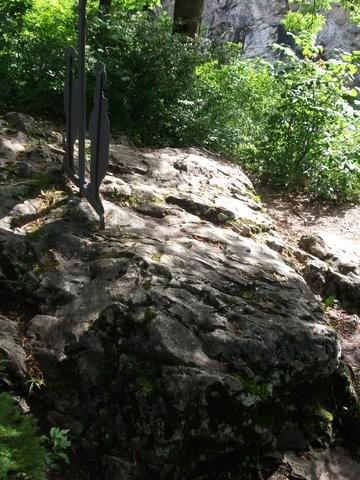Schalenstein Lusalten bei Füssen