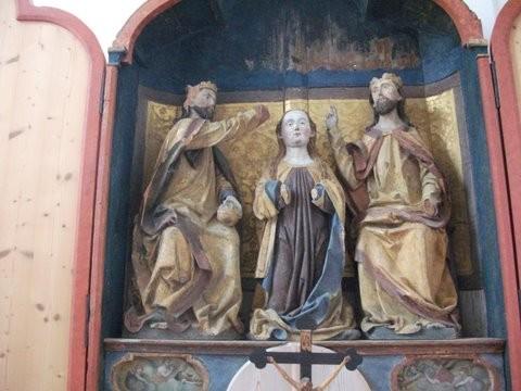 Krönung Mariens Veitskapelle Hohes Schloss Füssen
