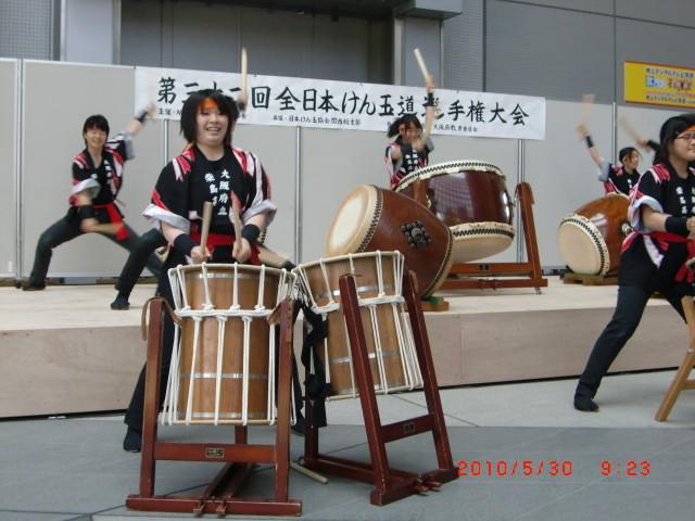 ◆オープニング◆ 「柴島高校太鼓部」による太鼓演奏